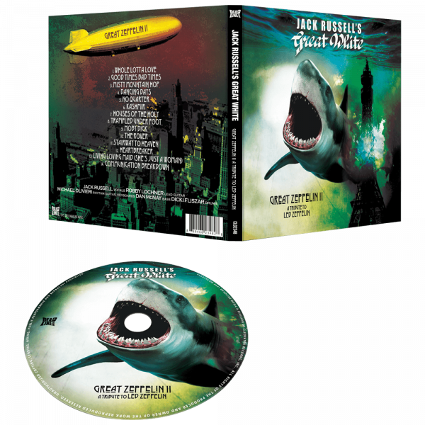 Jack Russell's Great White - Great Zeppelin II: A Tribute to Led Zeppelin (CD)