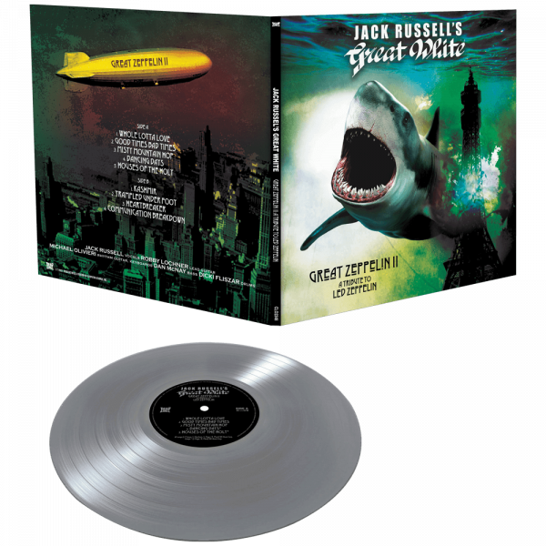 Jack Russell's Great White - Great Zeppelin II: A Tribute to Led Zeppelin (Limited Edition Colored Vinyl)