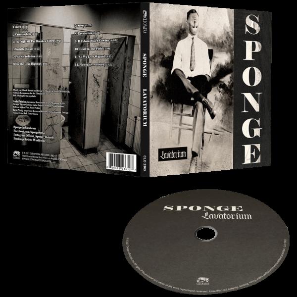 Sponge - Lavatorium (CD)
