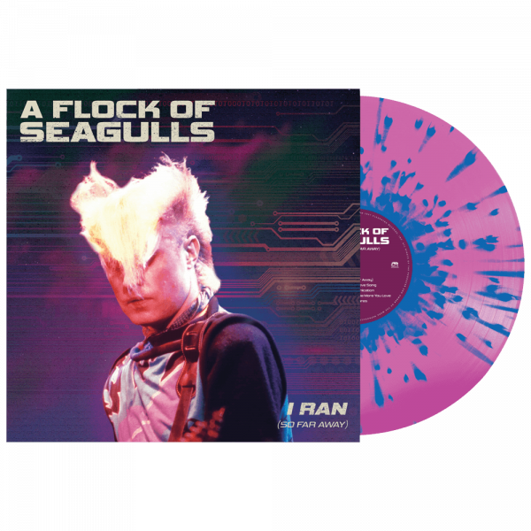 A Flock of Seagulls - I Ran (So Far Away) (Limited Edition Splatter Vinyl)