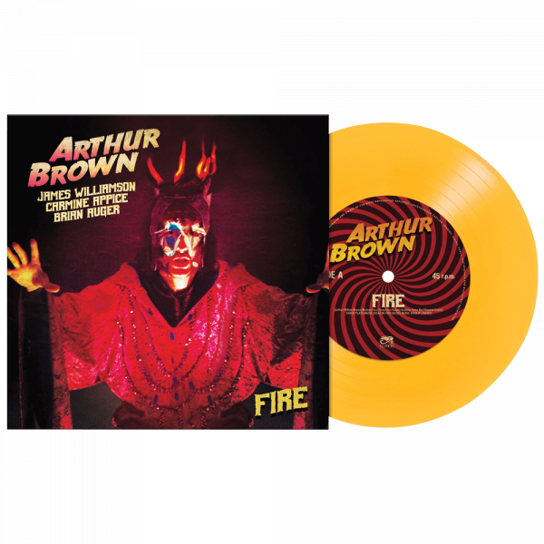 """Arthur Brown - Fire (Limited Edition Colored 7"""" Vinyl)"""