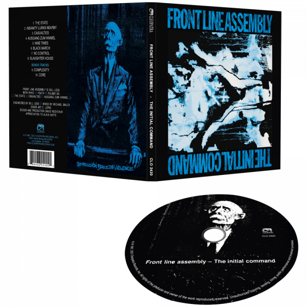 Front Line Assembly - The Initial Command (CD)