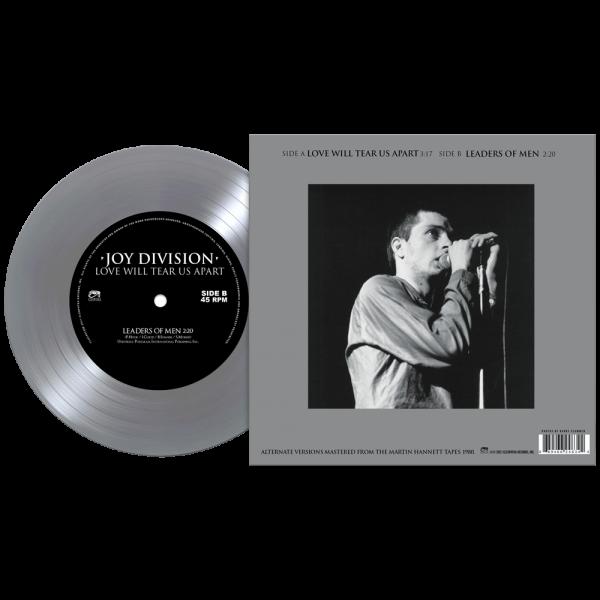 "Joy Division - Love Will Tear Us Apart (Limited Edition 7"" Silver Vinyl)"