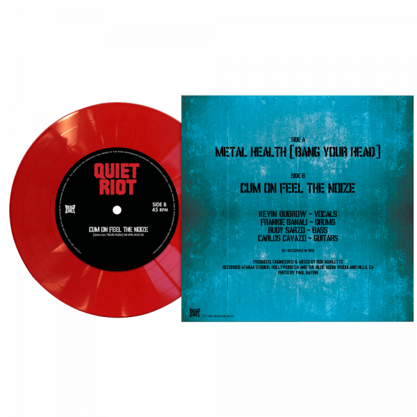 """Quiet Riot - Metal Health (Bang Your Head) (Limited Edition Colored 7"""" Vinyl)"""