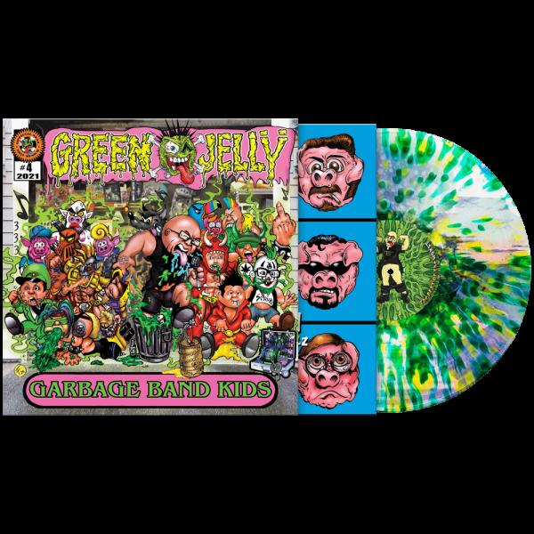 Green Jelly - Garbage Band Kids (Limited Edition Splatter Vinyl)