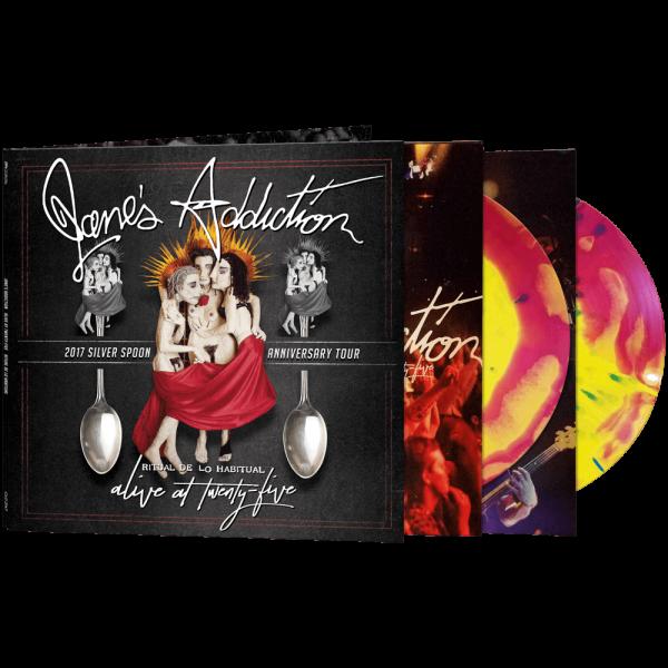 Jane's Addiction - Alive At Twenty-Five - Ritual De Lo Habitual Live (Limited Edition Double Psychedelic Splatter Vinyl)