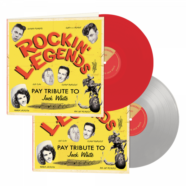 Rockin' Legends Pay Tribute to Jack White (Limited Edition Colored Vinyl)