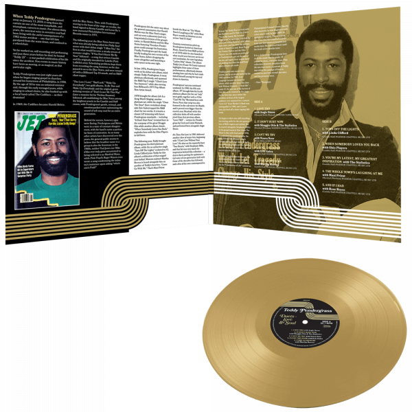 Teddy Pendergrass - Duets - Love & Soul (Limited Edition Gold Vinyl)