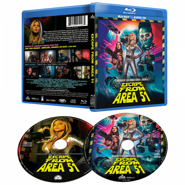 Escape From Area 51 (DVD+CD or Blu-Ray+CD)