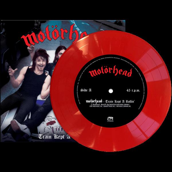 "Motorhead - Train Kept A-Rollin' (Limited Edition Colored 7"" Vinyl)"