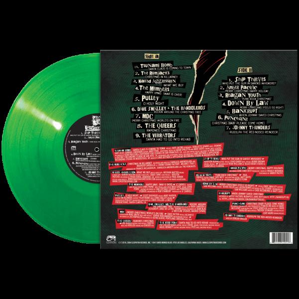 Punk Rock Christmas 2 (Limited Edition Green Vinyl)