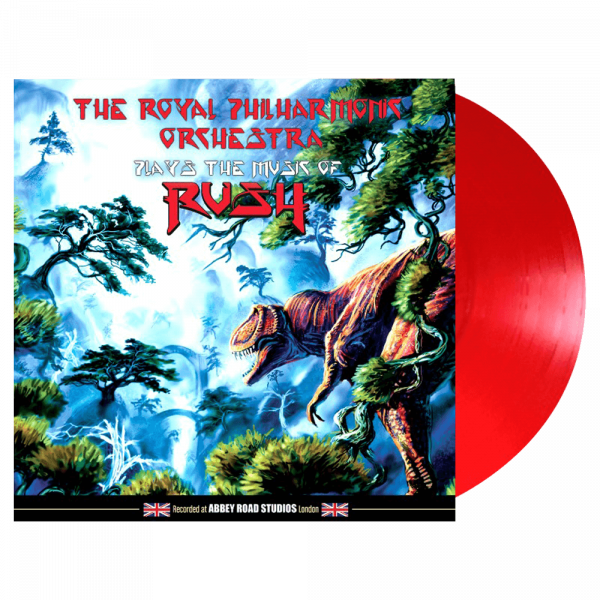 Royal Philharmonic Orchestra Plays The Music Of Rush (Limited Edition Red Vinyl)