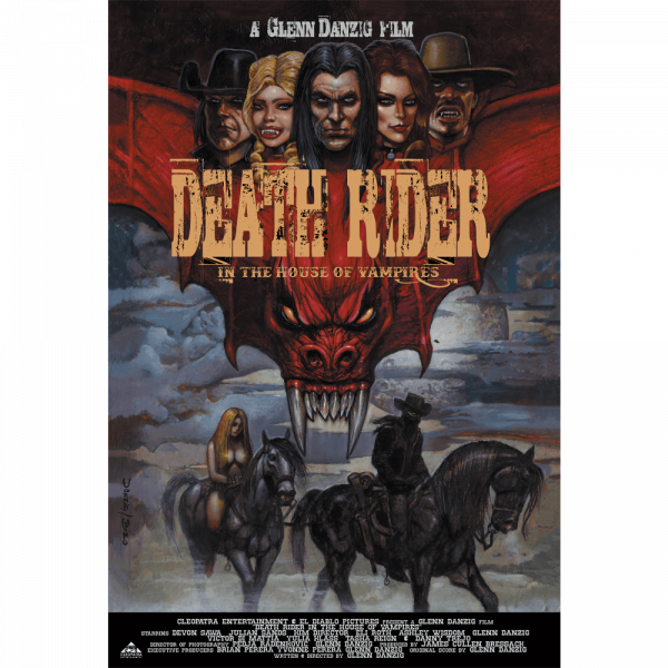 """Death Rider - In The House of Vampires - Movie Poster (27"""" x 40"""")"""