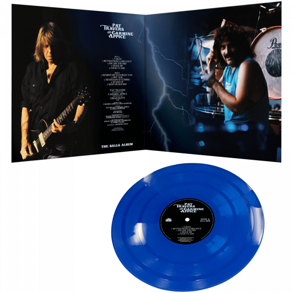 Pat Travers & Carmine Appice - The Balls Album (Limited Edition Colored Vinyl)