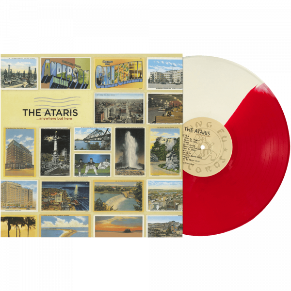The Ataris - Anywhere but Here (Limited Edition Red & White Vinyl)