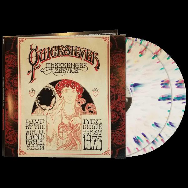 Quicksilver Messenger Service - Live At The Winterland Ballroom - December 1, 1973 (Limited Edition 2LP Splatter Vinyl)