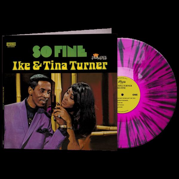 Ike & Tina Turner (Limited Edition Purple & Black Splatter Vinyl)
