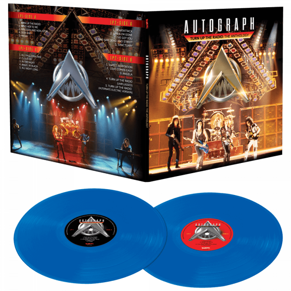 Autograph - Turn Up The Radio (Limited Edition Colored Vinyl)