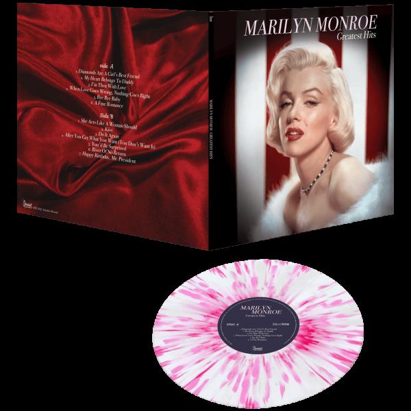 Marilyn Monroe - Greatest Hits (Limited Edition Pink & White Splatter Vinyl)