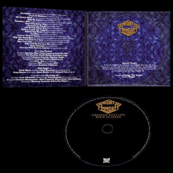 Night Ranger - Rock in Japan: Greatest Hits Live (CD)