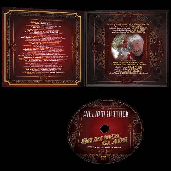 William Shatner - Shatner Claus (CD)