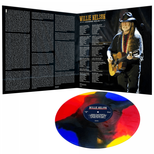 Willie Nelson - Legendary Outlaw (Limited Edition Multi-Color Vinyl)