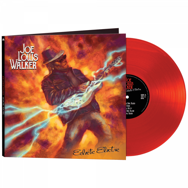 Joe Louis Walker - Electric Electric (Limited Edition Red Vinyl)
