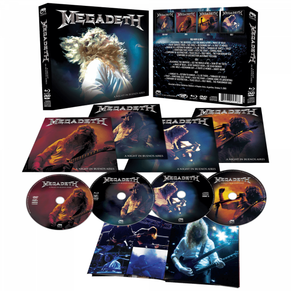 Megadeth - A Night in Buenos Aires (CD/DVD/BR)