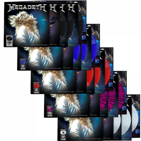 Megadeth - A Night in Buenos Aires (3 Limited Edition Colored Vinyl)